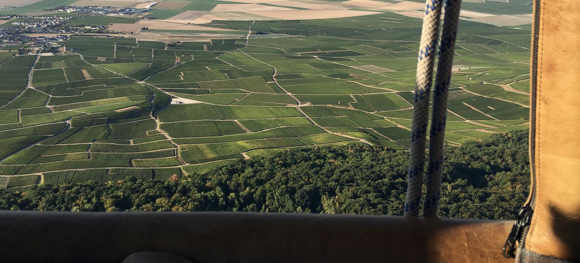 Vol en Montgolfière au dessus de la Champagne